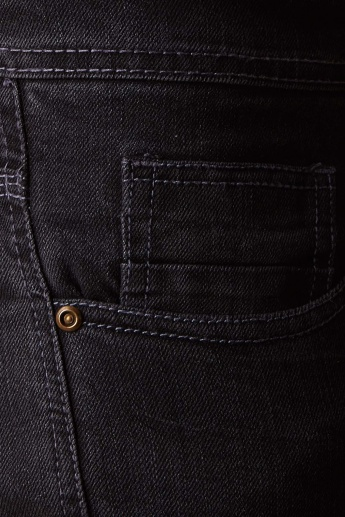 MAX Dark Wash Five Pocket Jeans