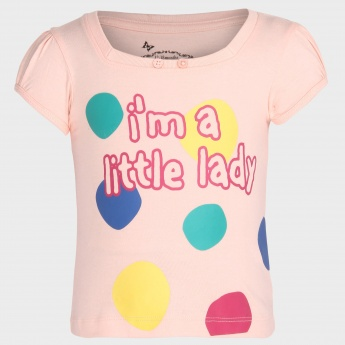 MAX Little Lady Printed Top