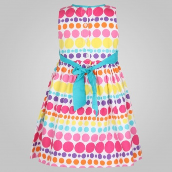 MAX Polka Dot Printed Dress