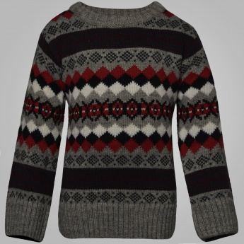 MAX Christmassy Knit Full Sleeves Sweater