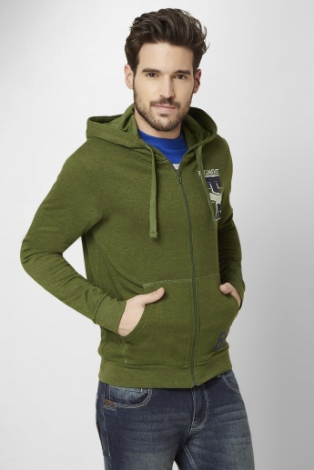 MAX Full Sleeves Hooded Sweatshirt
