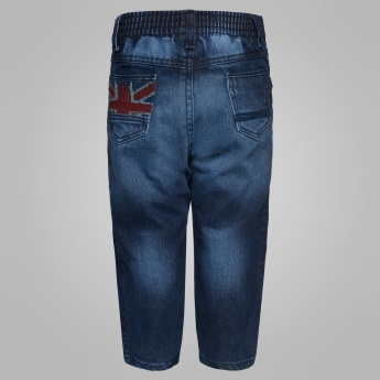 MAX Embroidered Pocket Jeans