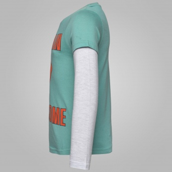 MAX Crew Neck Full Sleeves T-Shirt