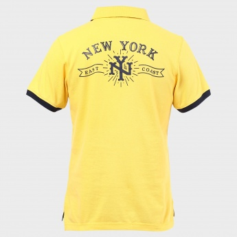 MAX NYC Polo Neck T-Shirt