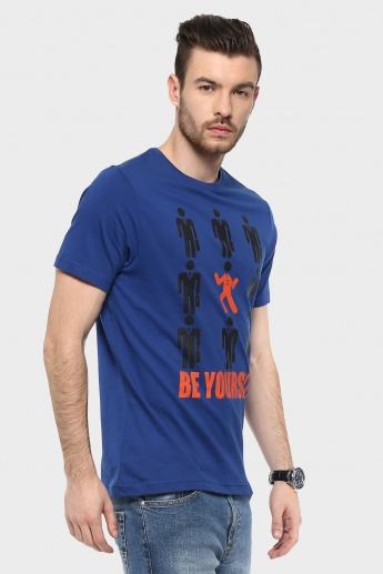 MAX Be Yourself Crew Neck T-Shirt