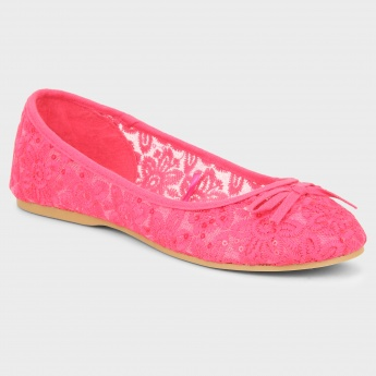 MAX Pretty Embroidery Ballerinas