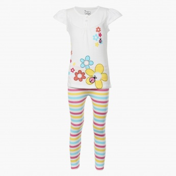 MAX Printed Sleepwear Set