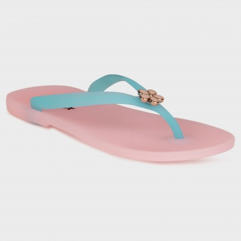 MAX Flower Top Slippers