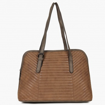 MAX Striped Pattern Handbag