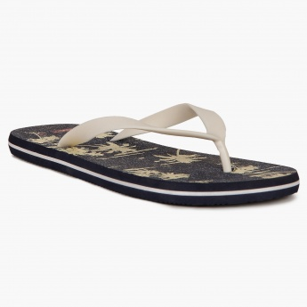 MAX Tropical Print Slippers
