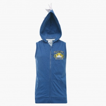 MAX Hooded Sleeveless Sweatshirt