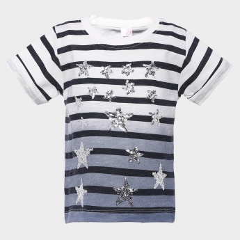 MAX Starry Striped T-Shirt