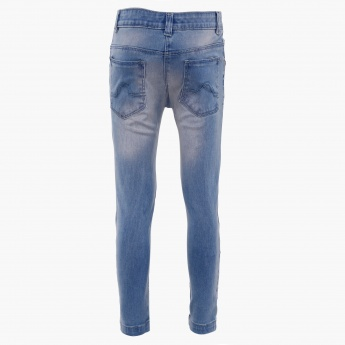 MAX Lace Patch Jeans