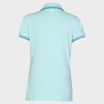 MAX Butterfly Bliss Polo Neck T-Shirt