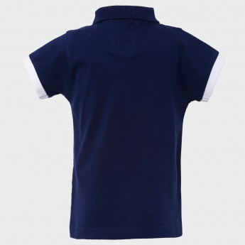 MAX Timberland Polo Neck T-Shirt