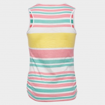 MAX Striped Sleeveless Top