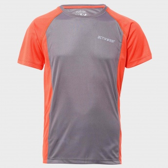 MAX Half Sleeves Solid T-Shirt