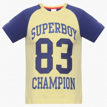 MAX Super Boy Raglan Sleeves T-Shirt