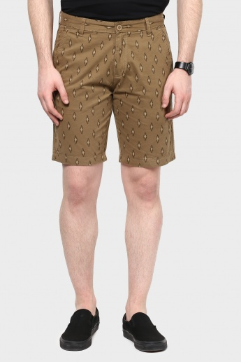 MAX Printed Cotton Shorts