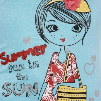 MAX Summer Fun Imprint Top
