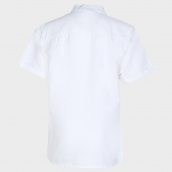 MAX Band Collar Half Sleeves Shirt