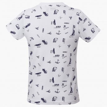 MAX Nautical Print T-Shirt