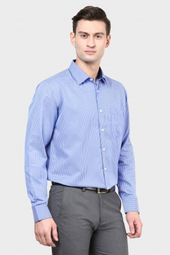 MAX Graph Check Slim Fit Shirt