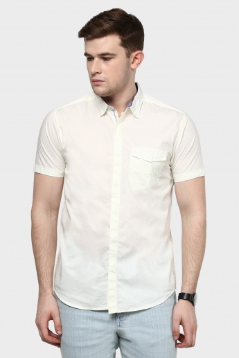 MAX Concealed Button Placket Slim Fit Shirt