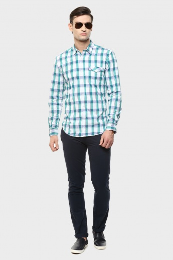 MAX Slim Fit Check Shirt