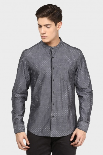 MAX Textured Full Sleeves Shirt
