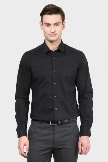 MAX Solid Slim Fit Shirt