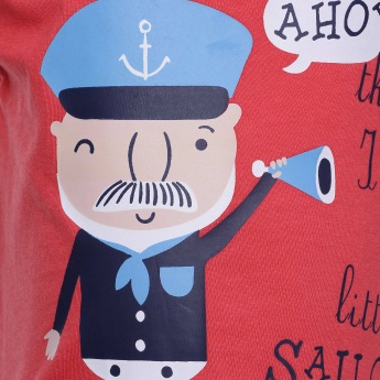 MAX Little Sailor Crew Neck T-Shirt