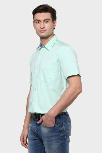 MAX Solid Half Sleeves Shirt