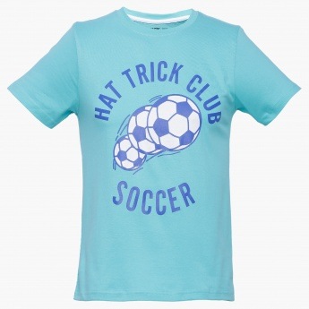 MAX Hat Trick Club Crew Neck T-Shirt