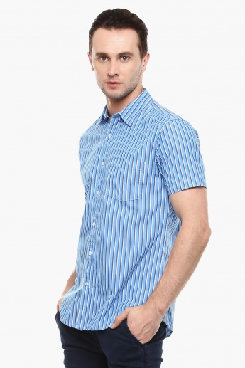 MAX Striped Half Sleeves Shirt