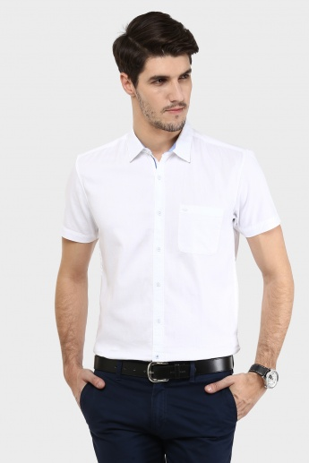 MAX Textured Half Sleeves Shirt