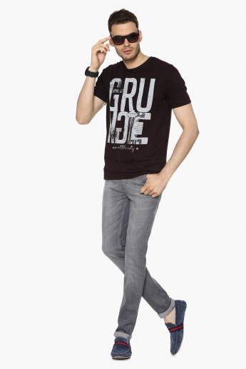 MAX Grunge Revival Crew Neck T-Shirt