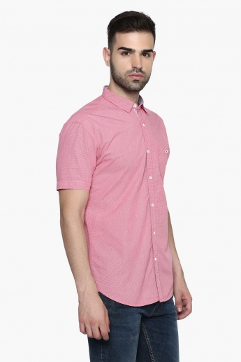 MAX Mini-Checks Half Sleeves Shirt