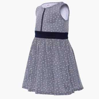 MAX Starry Sleeveless Dress