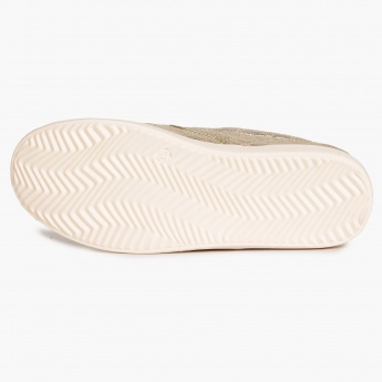 MAX Quilted Metallic Slip Ons