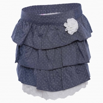 MAX Tiered Mini Skirt