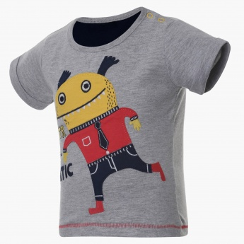 MAX Monster Applique T-Shirt