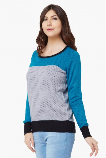 MAX Round Neck Full Sleeves Sweater