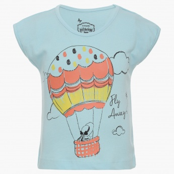 MAX Hot Air Balloon Imprint Top