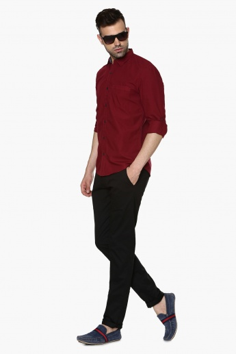 MAX Slim Fit Solid Shirt