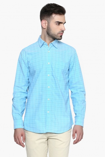 MAX Graph Check Regular Fit Shirt