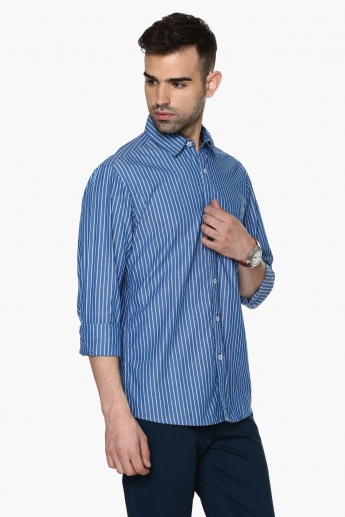 MAX Slim Fit Basic Striped Shirt