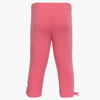 MAX Bow Solid Leggings
