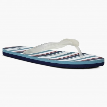 MAX Striped Insole Slippers