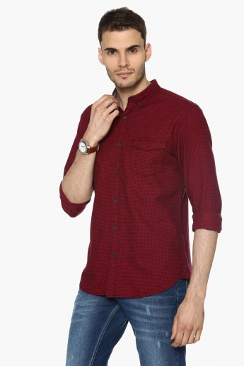 MAX Mini Checks Slim Fit Shirt